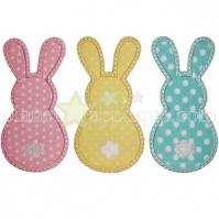 3_bunnies_planet_applique