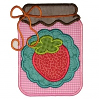 strawberry_jam_kitchen_towel_close_up