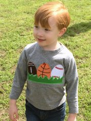 Sporty Easter Eggs Applique for Sam SKU 750685