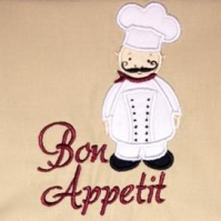 chef_bon_appetit_kitchen_towel_close_up