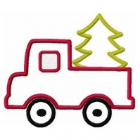 christmas_tree_and_truck_applique