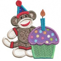 cupcake_boy_birthday_sock_monkey