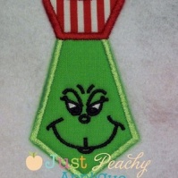 mr__mean_green_tie_just_peachy_applique