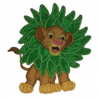 simba_with_leaves_close_up