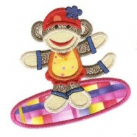 surfing_girl_sock_monkey