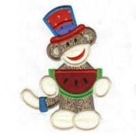 watermelon_patriotic_sock_monkeys